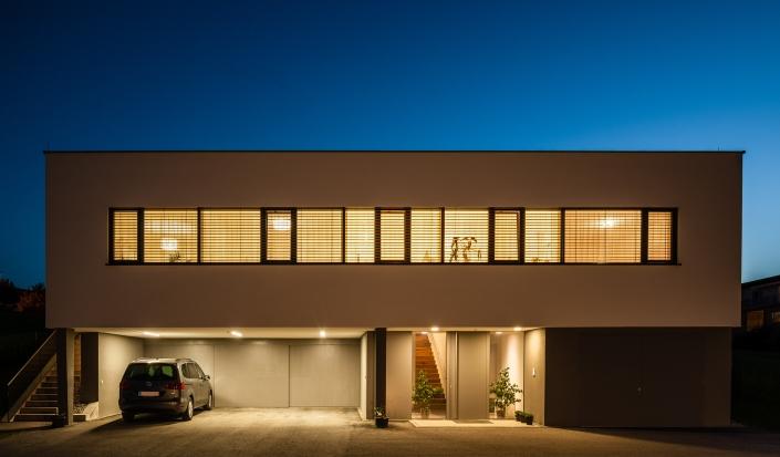 AF, Architektur, Engl, Etzlinger, Haus, KWS, blaue Stunde