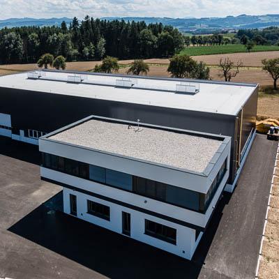 AF, Architektur, CF, Firma, Halle, Peneder, SYSTRON, Wolfsbach
